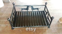Custom Metal Dachshund Dog Pet Bed Peut Être Personnalisé Ou Fabriqué Avec Votre Chien Spécial (ou Chat) Race