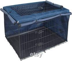 Explorez La Couverture De Caisse De Chien Terrestre Pour 24 30 36 42 48 Pouces Cage Filaire, Lattice Lourde Pet Kenne