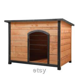 Flat Top Dog House-wheat Yellow Black,pet House, Pet Bed, Pet Design Mobilier, Dog Bed House
