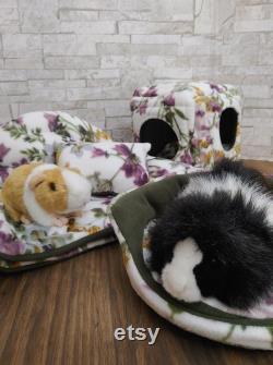 Grandmas Livingroom Set Cuddle Cup Cozy Cube Couch Spring Garden Fleece Rabbit Cage Bedding Pillow Floral