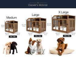 Handmade Modern Dog House Animaux Meubles Bois Dog Kennel Wood Dog Kennel Wood Dog Crate Modern Dog House Dog Mom Gift