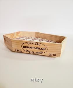 Lit D'animaux De Compagnie De La Caisse De Vin Recyclée
