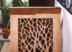 Lit De Chat Moderne Maison De Tipis Intérieur Petits Meubles De Chien Cadeau De Noël Unique Pour Les Amoureux De Chat Wood Animal Supplies Engravement Gratuit