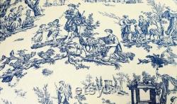 Lit Rond Bleu De Crabot De Toile, Lit De Crabot De Toile Dans 3 Tailles, Meubles D'animal Familier