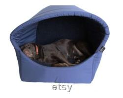 Omega Extra Large Hooded Cave Dog Bed