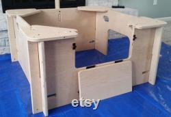 Whelping Box, Boîte De Sevrage, Petit, Chien, Stylo À Chiots, Quickwhelp