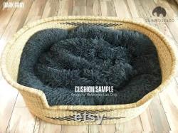 XL Woven Dog Bed Basket Dog Basket Handmade Dog Bed Confortable Dog Bed Wicker Dog Bed African Dog Bed Natural Pet Bed